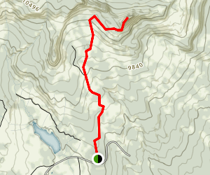 Rabbit Ears Peak Trail Map