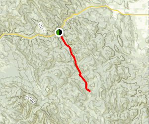 South Fork of Tin Cup Creek Map