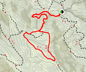 Kelly Canyon Trail Map