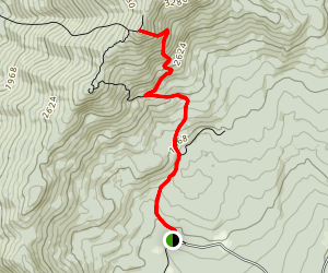 Mount Hunger Via Middlesex Trail Map