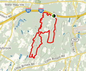 Stewart State Forest Trail Map