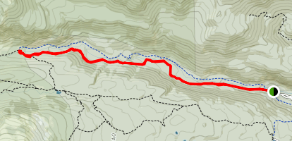 Buchanan Pass / Camp Dick Trail Map