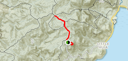 Mount Donald McLean Track [CLOSED] Map