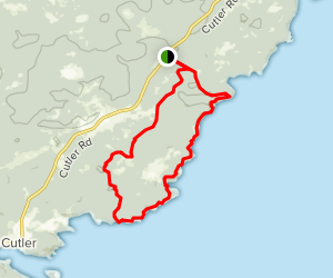 Cutler Coast Trail Map