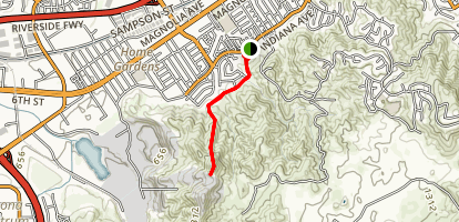 Sherman Indian School Trail [CLOSED] Map