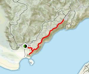 Omanawanui Track to Signal House Track [CLOSED] Map