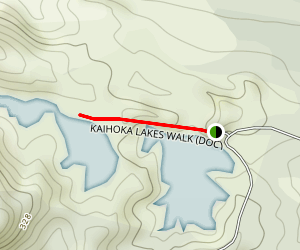 Kaihoka Lakes Walk Map