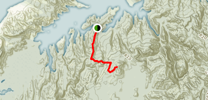 Knuckle Hill Track Map