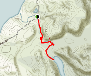 Lake Otuhie Track Map