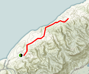 Patura Beach Trail Map