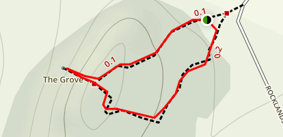 The Grove Trail Map
