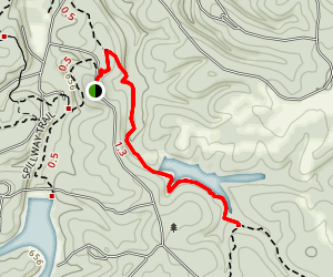 Creech Hollow Trail Map