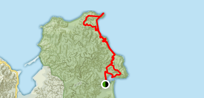 Separation Point Trail Map