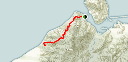 Cable Bay Walkway Map