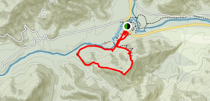 Pelorus Bridge Trail Map