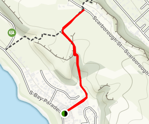 South Bay Track Map