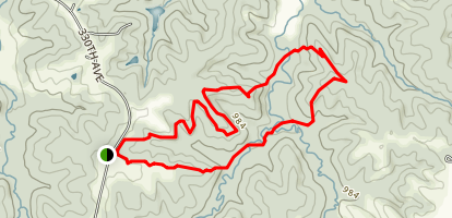 Stephens State Forest Area Trails Map