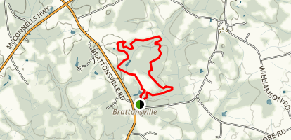Historic Brattonsville Loop Map