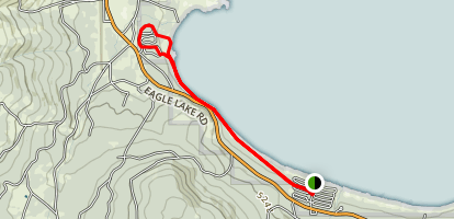 Eagle Lake Recreation Trail Map