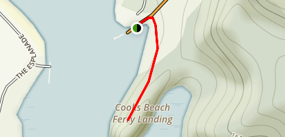 Cooks Beach Trail Map