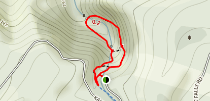 Kaiate Falls Hike Map