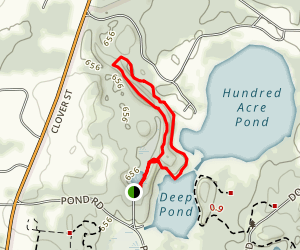 Devil's Bathtub Trail Map
