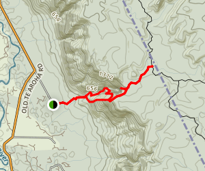 Wairere Falls Track Map