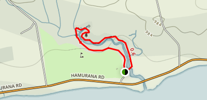 Hamurana Springs Loop Walkway Map