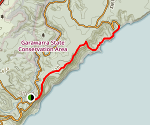 Otford to Garie Beach Map