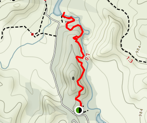 Okere Falls Trail Map