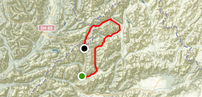 Saint James Walkway to Roleston Track Map