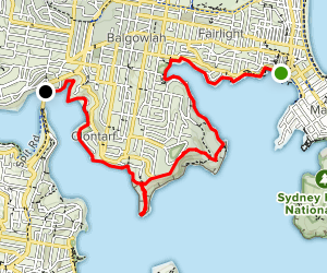 how to go from spit bridge to manly