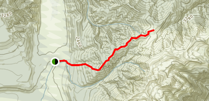 Jameson Ridge Track Map