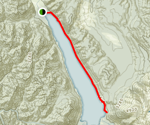 Lake Rotoroa Route Map