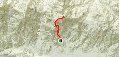 Waterfall Track to Mount Isobel Map