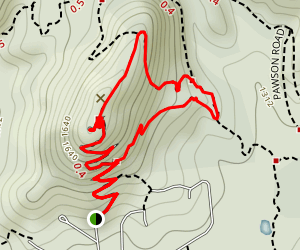 Conical Hill Loop Trail Map