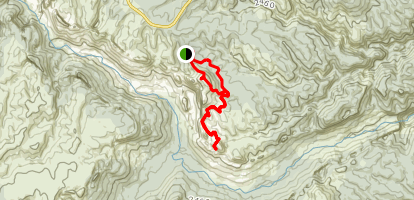 Mount Banks One Trail Loop Map