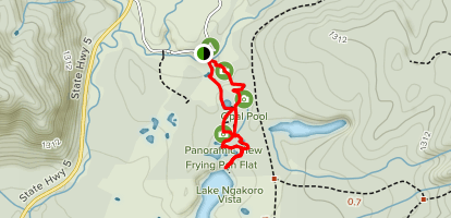 Waiotapu Thermal Park Loop Map