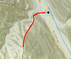 Mount Bealey Track Map
