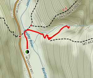 Devil's Punchbowl Lookout Trail Map