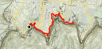 Prince Henry Cliff Walk Map