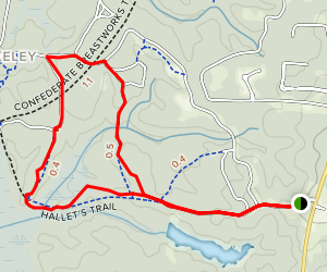 Forever Wild Nature Trail Map