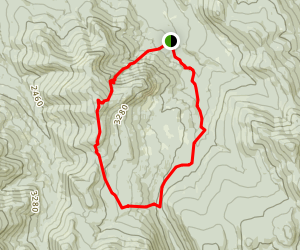Hale Brook Trail and Zealand Trail Loop Map