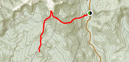 Mount Isolation via Glen Boulder Trail Map
