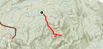 Galehead and South Twin Via Gale River Trail Map