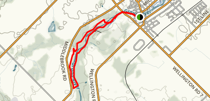 Elora Gorge Trails Map