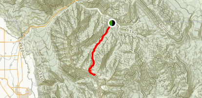 Cascade Saddle Trail Map