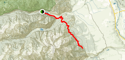 Colorado Trail: CR 306 to CR 322 Map