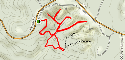 Providence Canyons Trails Map