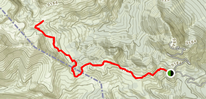 Rock Creek Basin Trail Map
